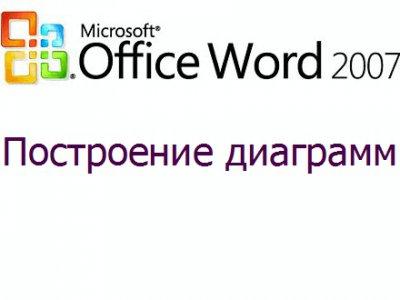 Как вставить диаграмму в Microsoft Word 2007?