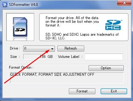 Программу для удаления файлов с карты памяти
