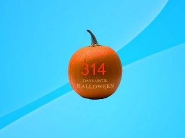 Гаджет Halloween таймер на рабочий стол для Windows 7 и 8