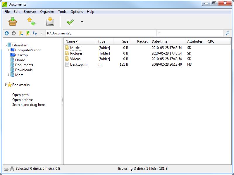 На для файлов windows программу 7 открытия rar