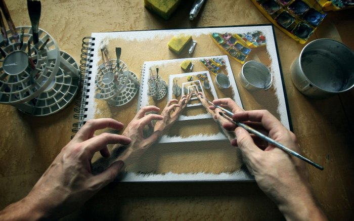 Как вставить картинку в картинку в фотошопе или фото в фото