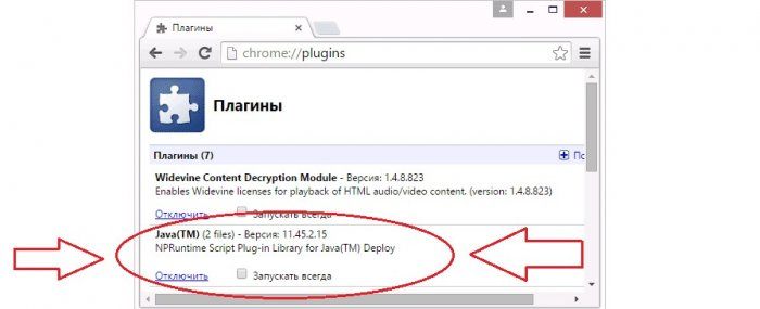 Как включить Java в Google Chrome, руководство